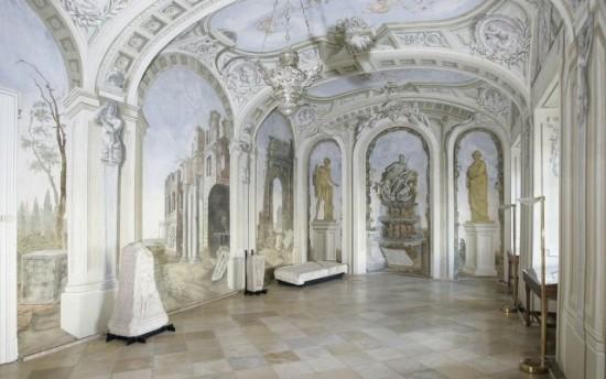 Szombathelyi püspöki palota, sala terenna