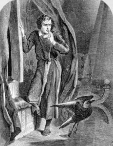 John Tenniel: A holló (Illusztráció)