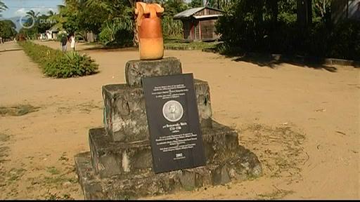 Benyovszky emlékmű Madagaszkáron