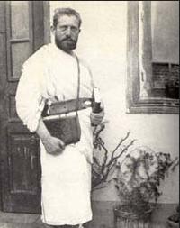 Germanus Gyula zarándoruhában