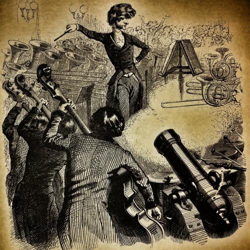 Grandvill Berlioz karikatúrája