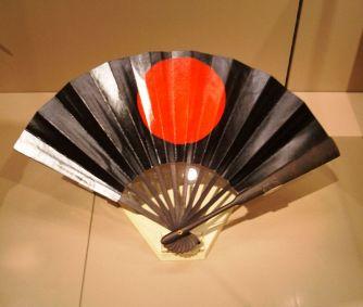 Hadvezéri legyező a japán Edo-korból