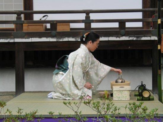 japán teaszertartás