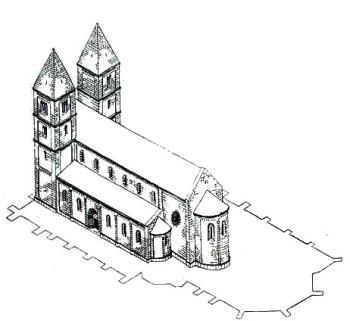 A Belvárosi Templom a tatárjárás előtt