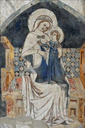 XIV. sz-i Madonna ábrázolás