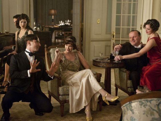 Scene from the film series Boardwalk Empire