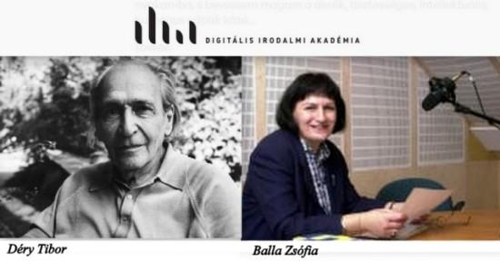 Déry Tibor és Balla Zsófia