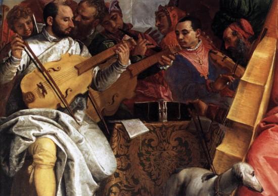 Paolo Veronese: Kánai menyegző (részlet)