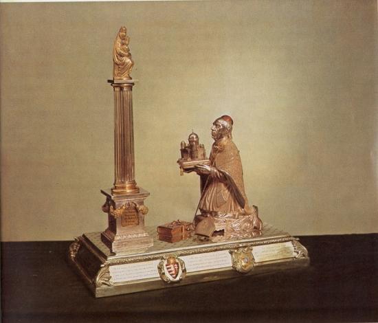Patits Ferenc: Scitovszky János hercegprímás fogadalmi adománya, 1857.
