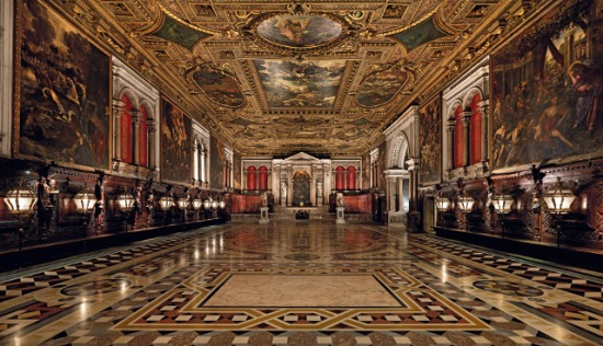 Scuola San Rocco (belső
