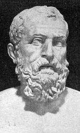 Szolón egy római kori portréja