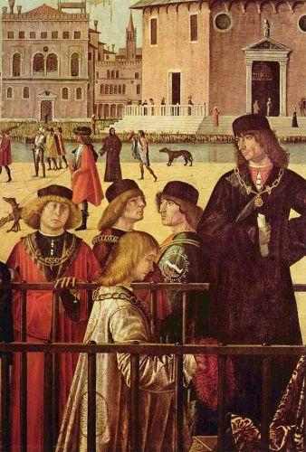 Vittore Carpaccio: Nagykövetek érkezése