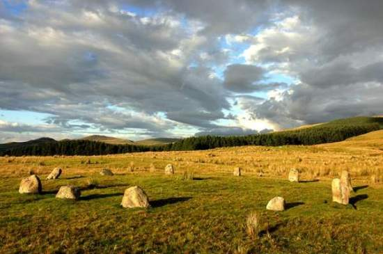 Stone Circle. Lake District