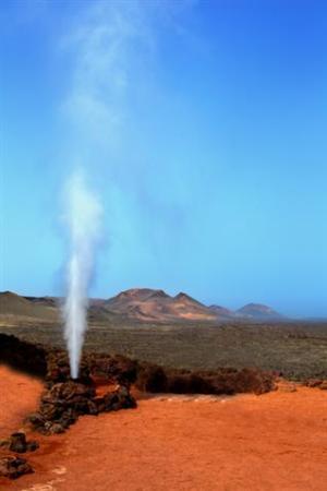 Lanzarote geyser, Timanfaya National Park