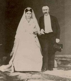 Sophia and Heinrich Schliemann