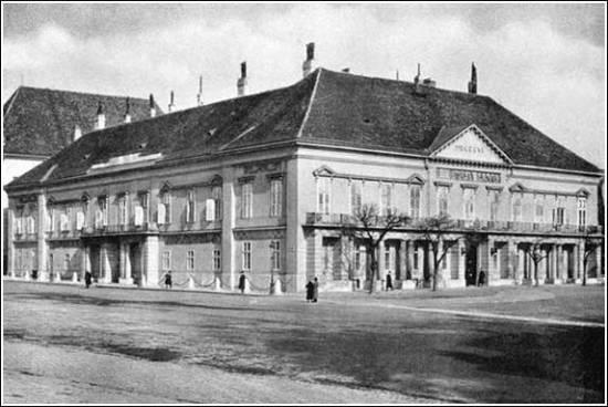 A Sándor-palota 1806-ban