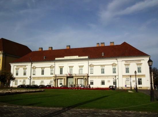 A Sándor-palota 2016-ban