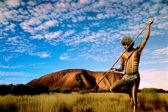 Aboriginal vadász (Outback)
