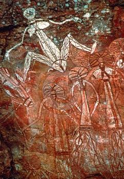 sziklarajz a Kakadu Nemzeti Parkban