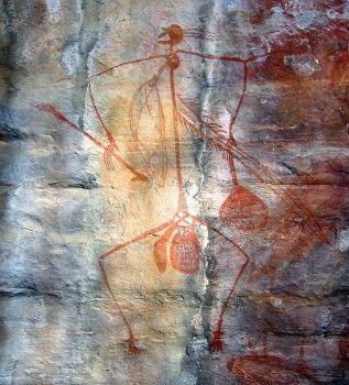 sziklarajz a Kakadu Nemzeti Park területén