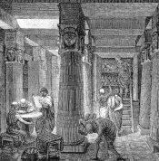 Az alexandriai könyvtár
