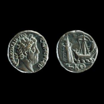 Római érme Commodus császár idejéből