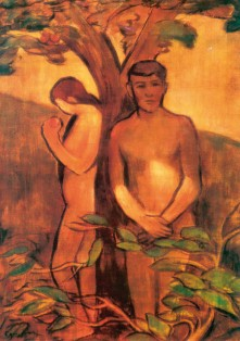 Egry József: Ádám és Éva