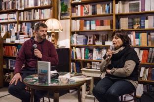 Bemutatták Mezey Katalin Levelek haza című könyvét a Magyar Napló könyvesboltjában
