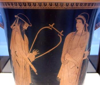 Alkaiosz és Szapphó barbitosszal