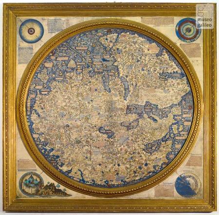 Mauro barát térképe
