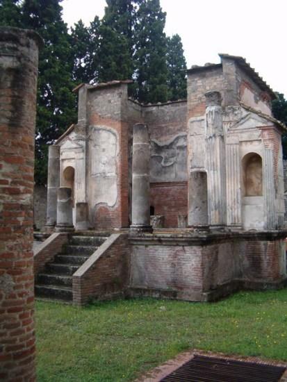 A pompeii Isis-templom