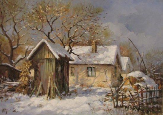 Rajczi Zoltán: Tél a tanyán