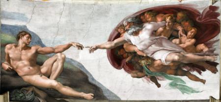 Ádám teremtése (Sixtus-kápolna)