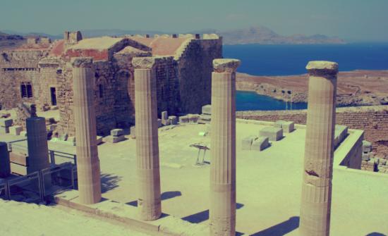 Akropolis, Lindos