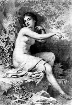 Molnár József: Fürdő nő