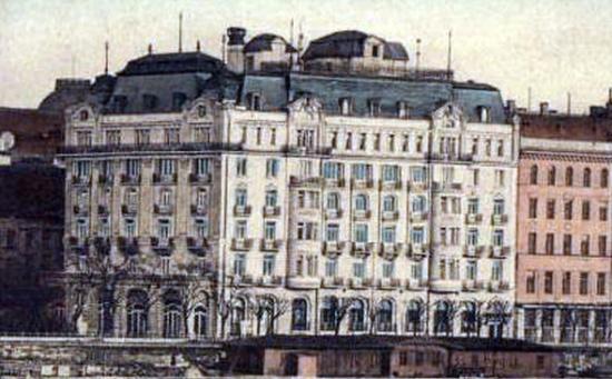 Hotel Ritz Budapest 1913-ban