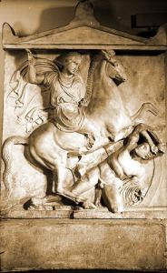 Dexileós sírsztéléje Athénből