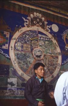 Buddhista életkerék