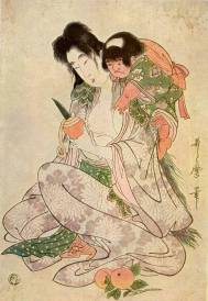 Utamaro: Yamauba és Kintarō