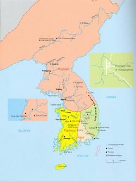 Korea térkép