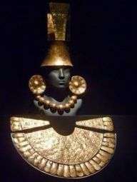 Sican burial mask