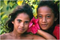 Tahiti lányok