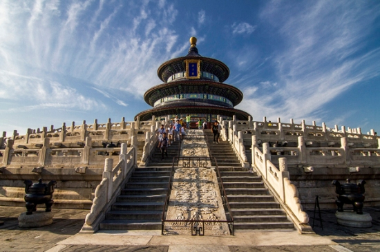 Temple of Heaven, Beiing, China