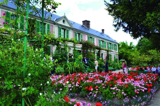 Monet háza ma