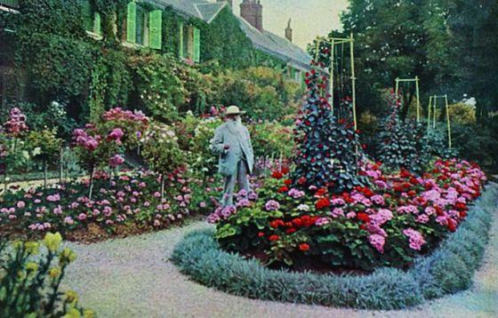 Monet háza régi képen