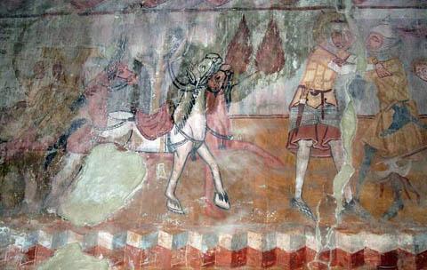 fali freskó