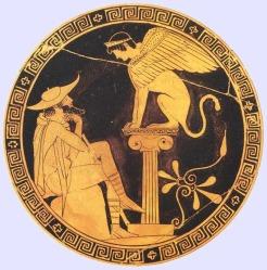 Oidipus és a sphinx