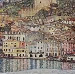 Gustav Klimt: Malcesine a Garda-tó partján