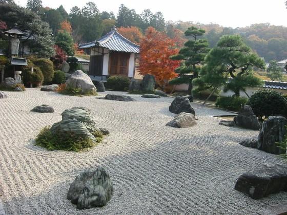 Kőkert Kyotóban