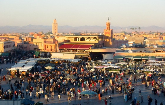 Marrakech. djemaa el Fna